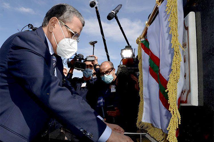 عبد العزيز جراد في زيارة إلى تيبازة