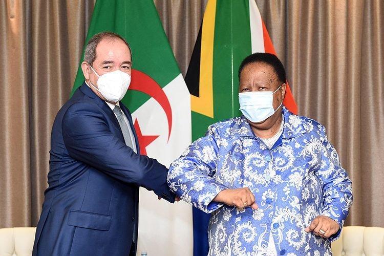 ملف الصحراء الغربية: هذا ما اتفقت عليه الجزائر وجنوب إفريقيا