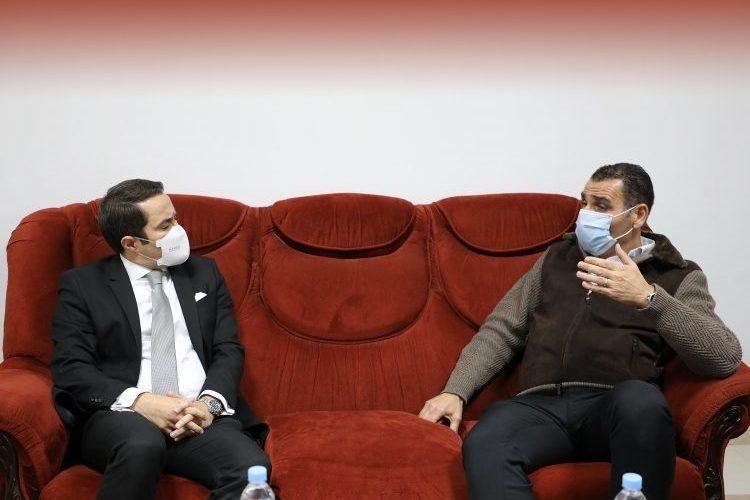 خالدي يراسل زطشي لمعرفة محتوى مراسلاته مع الفيفا