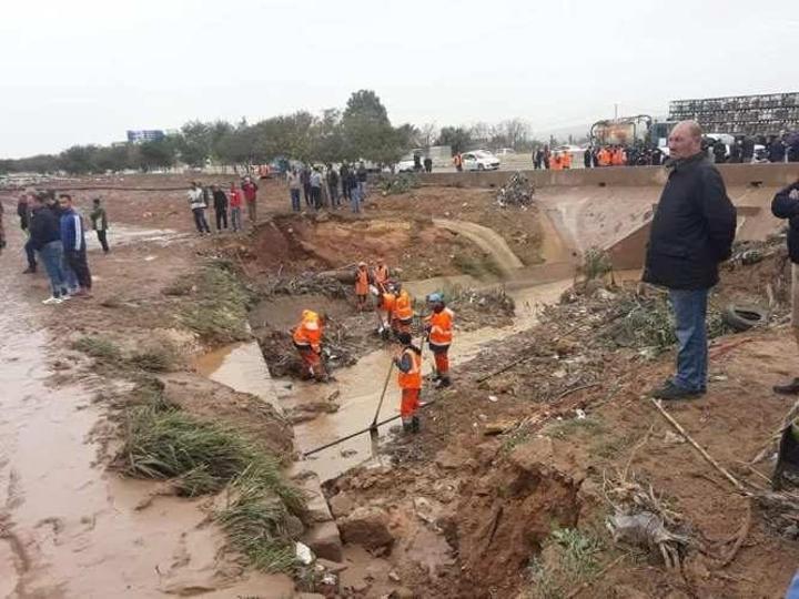 فيضانات الشلف: الحماية المدنية تعثر على الضحية التاسعة