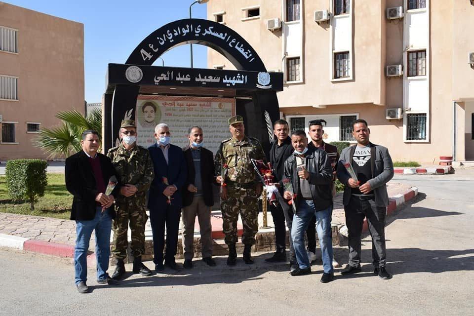 زيارة مجاملة من ممثلي المجتمع المدني إلى القطاعات العسكرية