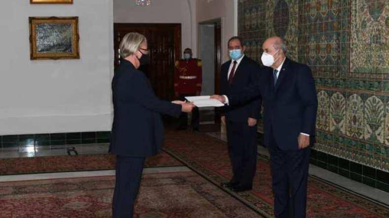 رئيس الجمهورية يتسلم أوراق اعتماد 4 سفراء جدد