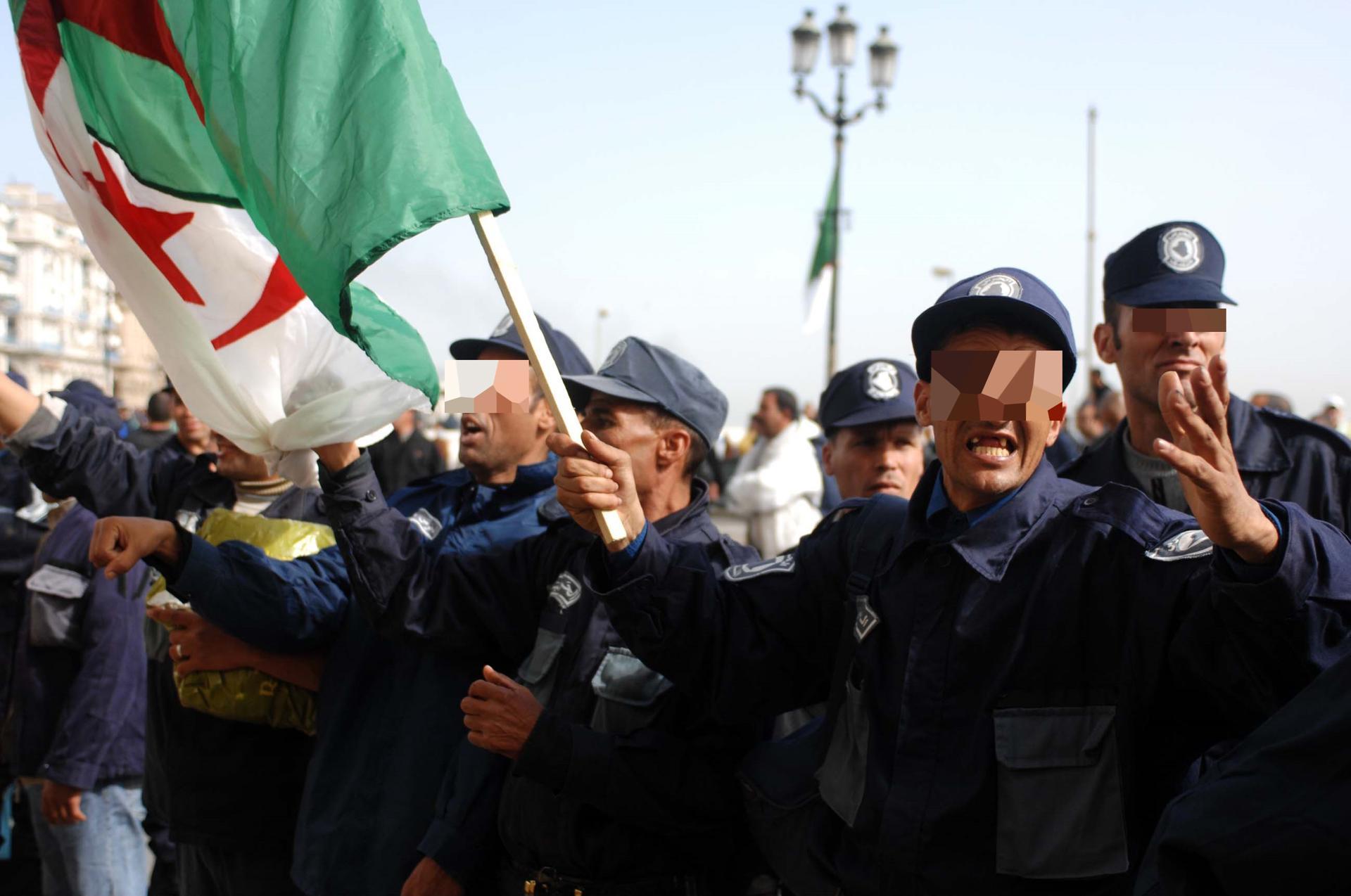 أعوان الحرس البلدي يعودون للاحتجاج