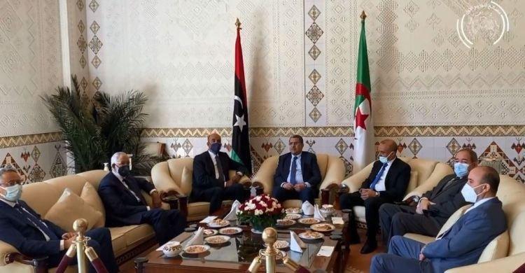 جراد يستقبل نائبي رئيس المجلس الرئاسي الليبي