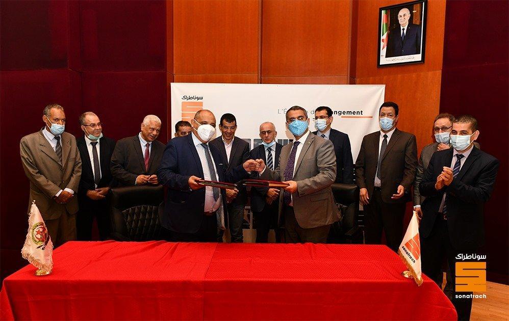 سوناطراك: التوقيع على الاتفاقية الجماعية لفرع المحروقات
