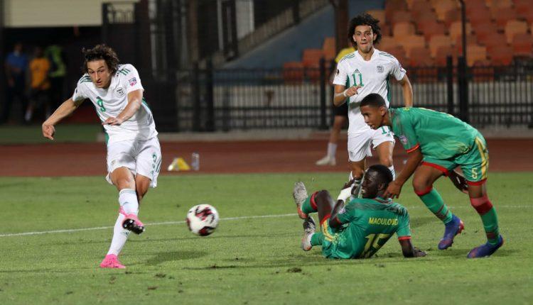 """بِالفيديو: بداية مُوفّقة لِأواسط """"الخضر"""" في البطولة العربية"""