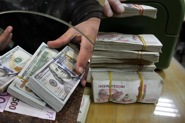 """الدينار """"ينحني"""" أمام الدولار ببنك الجزائر وسوق """"السكوار""""!"""