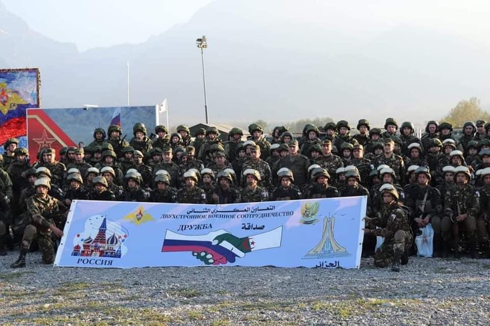 بالصور.. الجيش الجزائري يشارك في تمرين تكتيكي حول مكافحة الإرهاب بروسيا