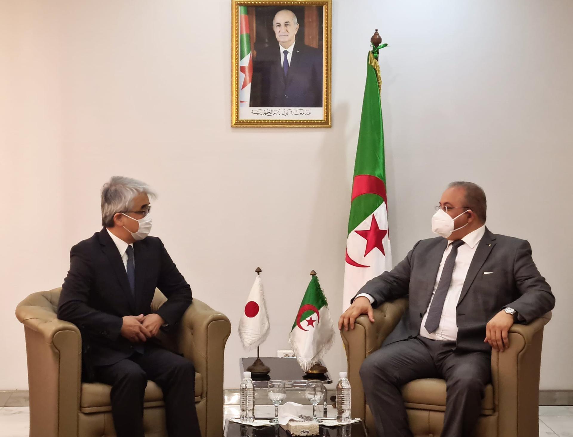 الجزائر تعرض على اليابان الاستثمار في هذه المجالات