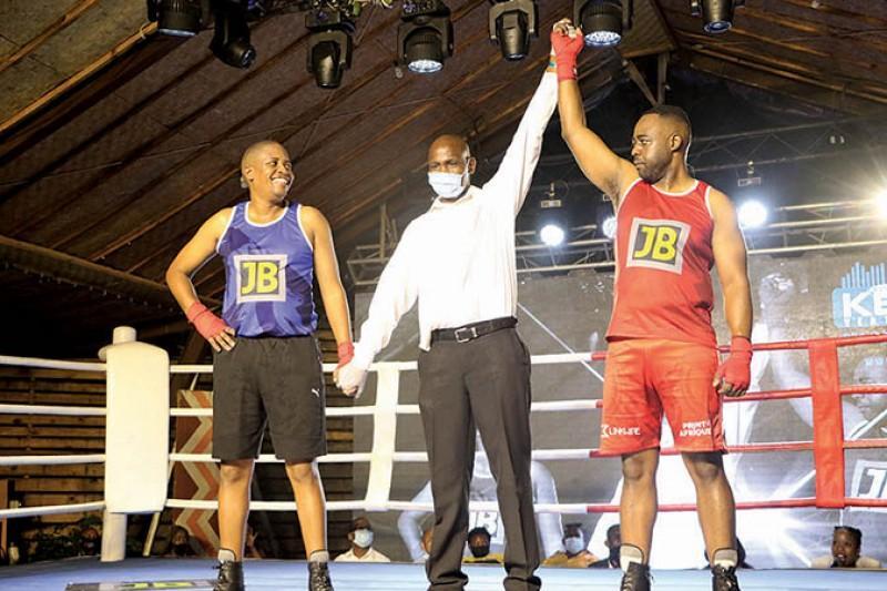 Boxing Tackles Gender Based Violence