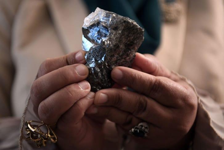 Huge 1,174-carat diamond unearthed in Botswana
