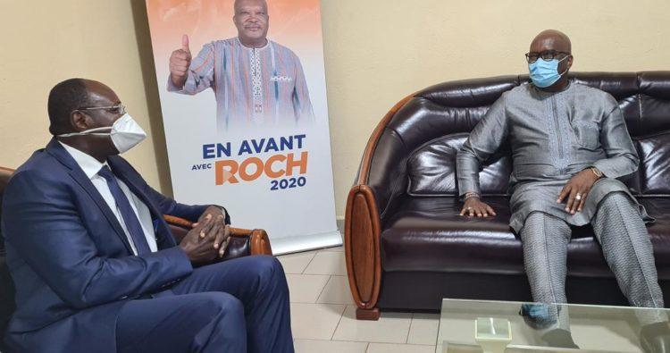 Burkina Faso : Eddie Komboïgo félicite Roch Kaboré pour sa victoire