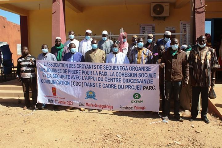 Promotion du vivre ensemble au Yatenga: Communautés religieuses et coutumières en union de prières à Séguénéga