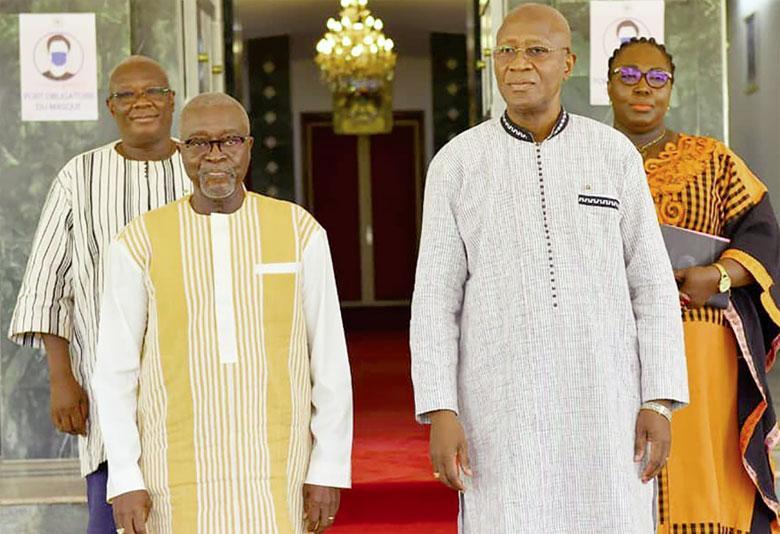 Réconciliation nationale et dialogue social : Deux institutions reçoivent les orientations du gouvernement