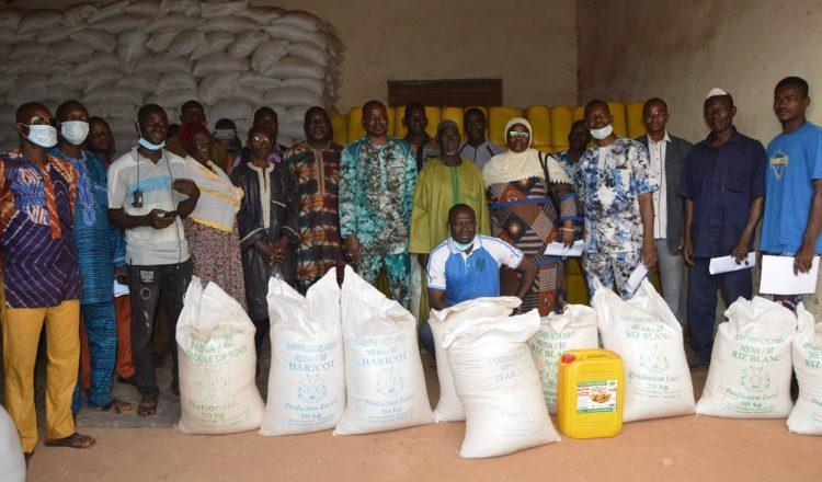 Commune de Houndé : Plus 137 millions de F CFA en vivres remis aux écoles primaires et préscolaires