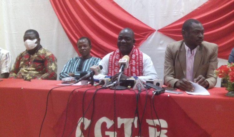 Burkina Faso: La CGT-B fait le bilan de ses activités