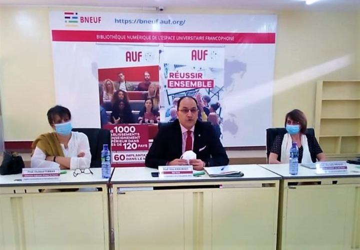 Agence Universitaire de la Francophonie (AUF): Le recteur se prononce après la CONFEJES
