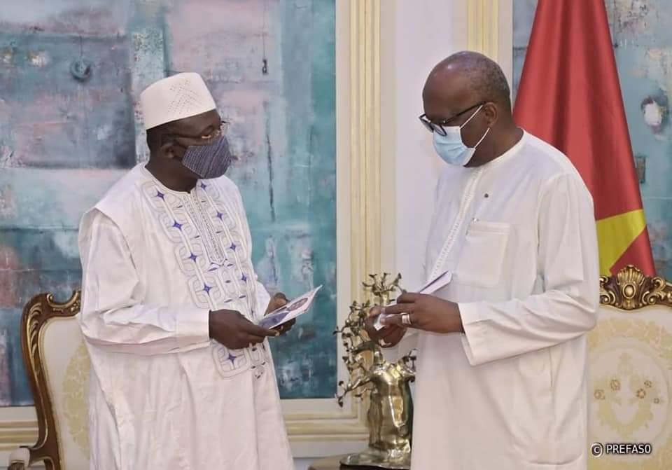 Politique : Le président du Faso et le chef de l'opposition politique échangent sur les grandes questions nationales