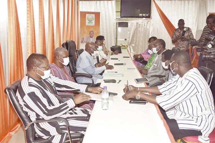 Réconciliation nationale : le MPP et l'UPC main dans la main