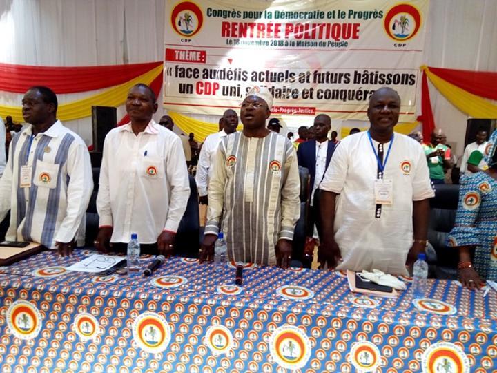 Réconciliation nationale : Le CDP rejoint la majorité