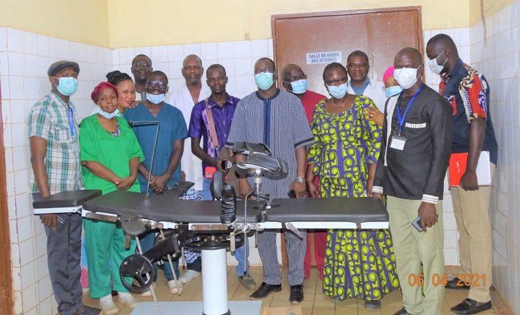 Burkina Faso : Iliasse Ouédraogo laisse parler son cœur au CHU Yalgado