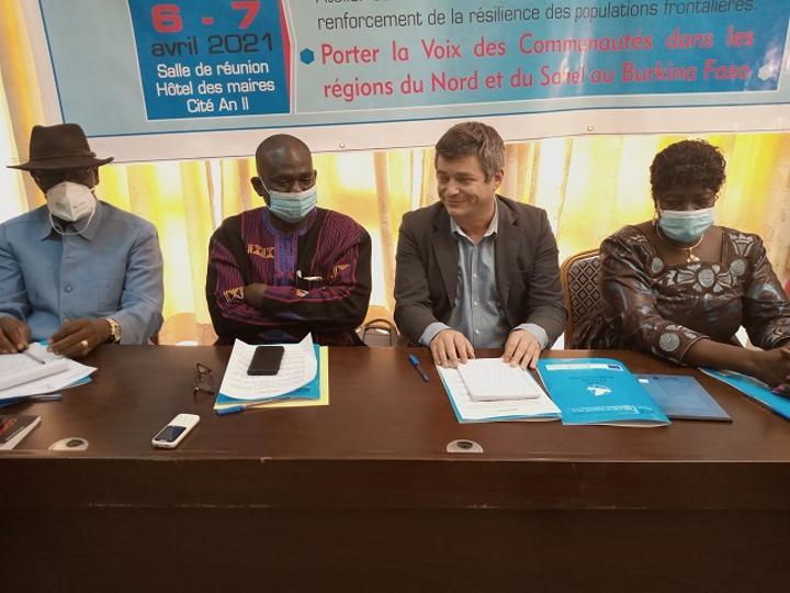 Personnes déplacées internes : WILPF Group fait le plaidoyer pour la résilience des populations frontalières