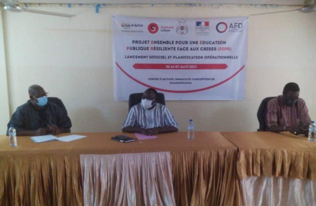 Burkina Faso : Le consortium Aide et Action-Solidarité Laïque pour la continuité éducative dans 4 communes rurales