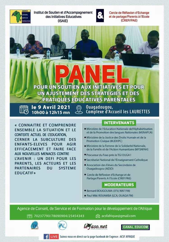 Evénement : Un panel pour un soutien aux initiatives et pour un ajustement des stratégies et des pratiques éducatives parentales