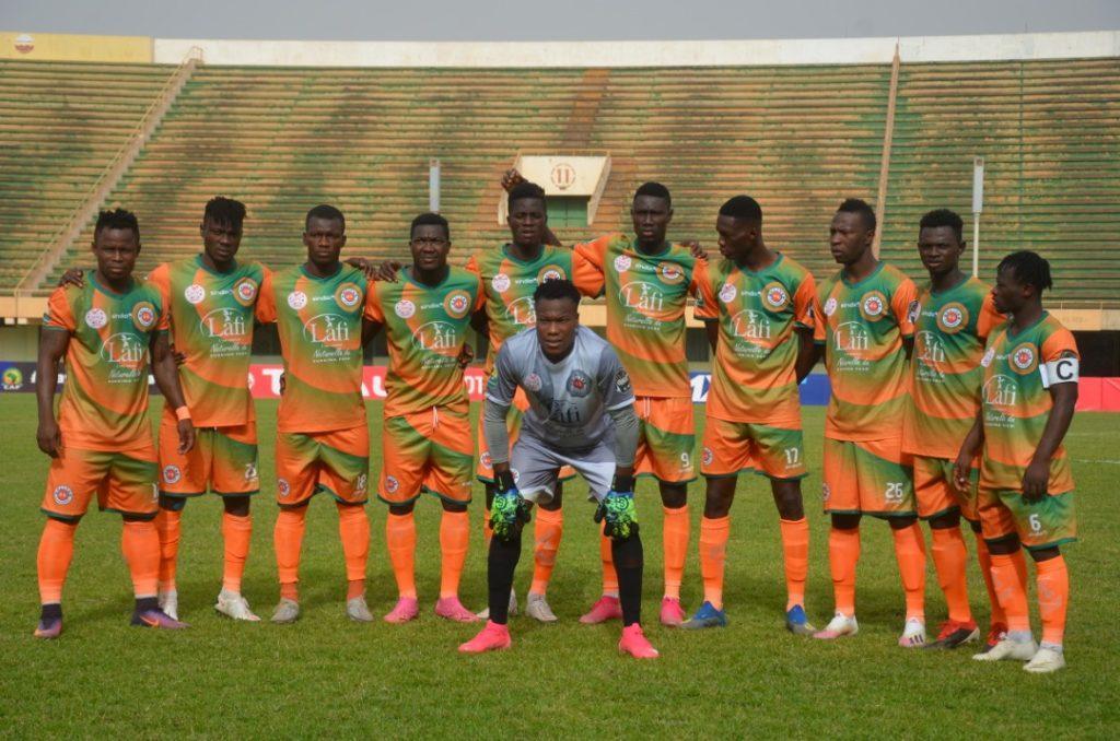 Coupe CAF : Le Salitas FC termine par une défaite face à l'Etoile du Sportif du Sahel (2-1)