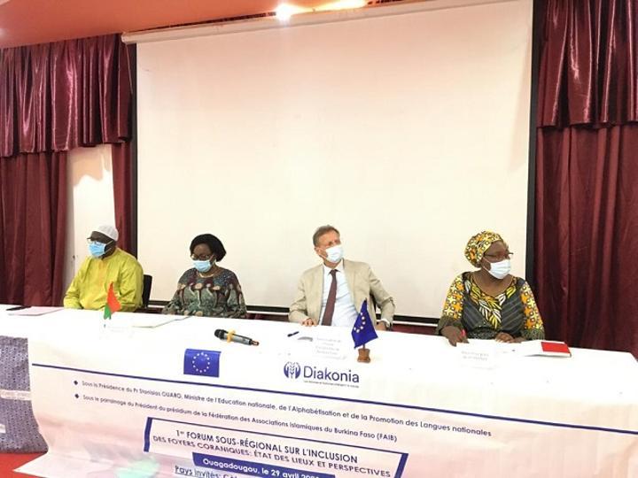 Inclusion des foyers coraniques : Le Burkina tient un premier forum sous-régional
