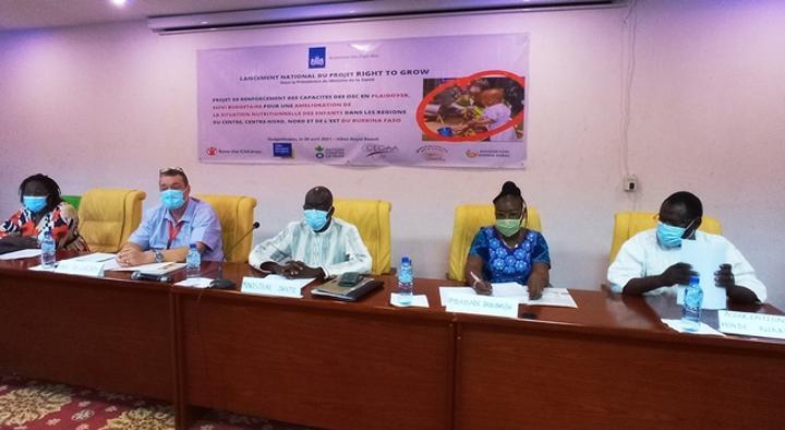 Situation des enfants malnutris au Burkina : Save the Children lance « Right To Grow » pour inverser la tendance