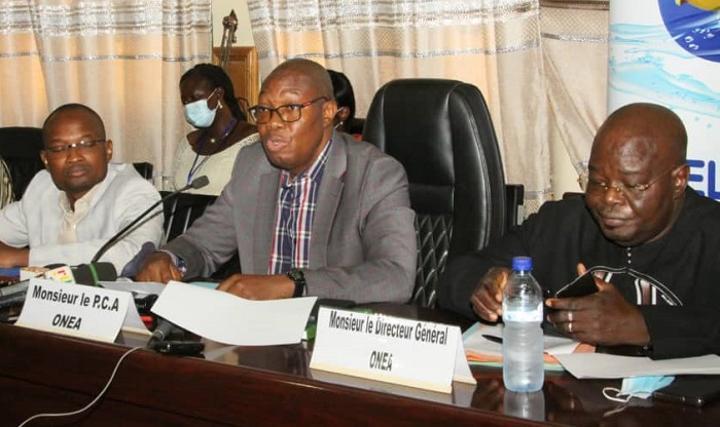 ONEA : Les plaintes ne sont pas liées au système, relativise le directeur général, Frédéric François Kaboré