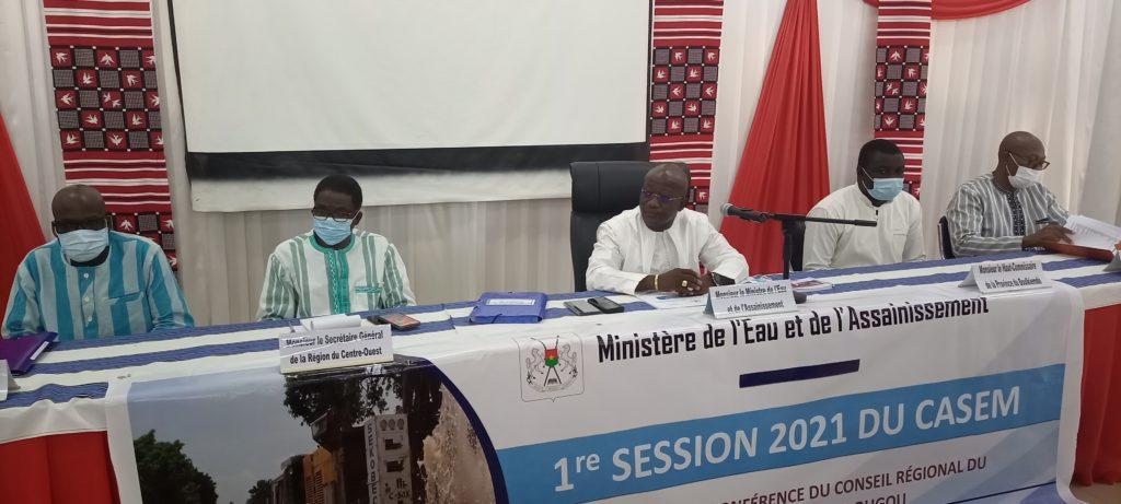 Eau et assainissement au Burkina Faso : Le ministère note 67,80% de réalisations en 2020