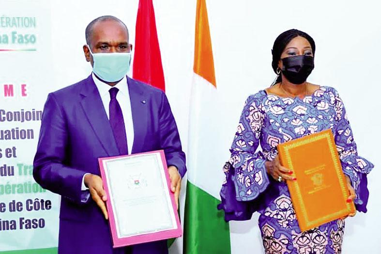 Traité d'amitié et de coopération ivoiro-burkinabè : Les experts finalisent trois projets d'accord