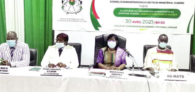 Redécoupage administratif : « Nous sommes à l'élaboration de la feuille de route », Madiara Sagnon, ministre déléguée
