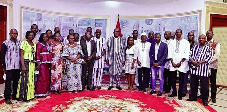 Projet de vaccin contre le paludisme : Le Président du Faso salue la prouesse des chercheurs