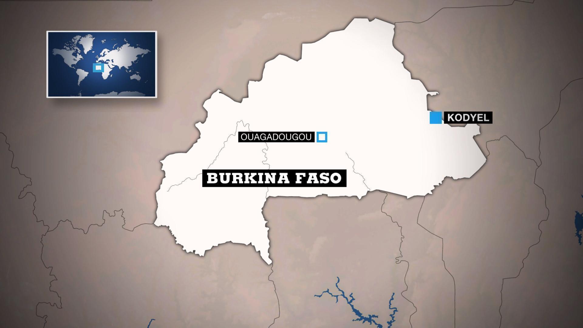Burkina Faso : au moins 30 morts dans une attaque dans l'Est du pays