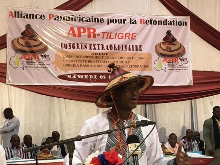 Burkina Faso : A P R /Tiligré « lance un appel pour un sursaut patriotique aux fins de défendre l'intégrité et l'intégralité » du pays