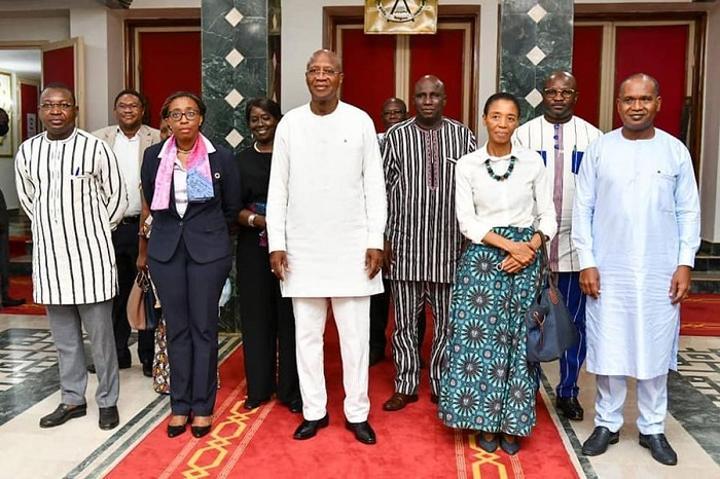 Commission économique pour l'Afrique : La Secrétaire exécutive échange avec le Premier ministre sur les priorités du Burkina Faso