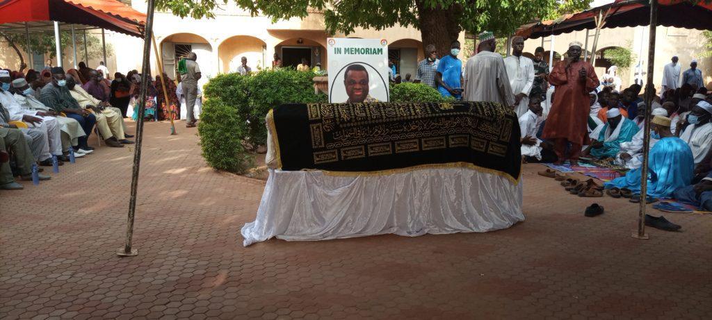 Burkina Faso : La dépouille mortelle d'Assimi Kouanda est arrivée à Ouagadougou