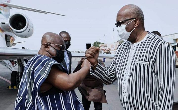 Coopération : Le président ghanéen, président en exercice de la CEDEAO, en visite d'amitié et de travail au Burkina