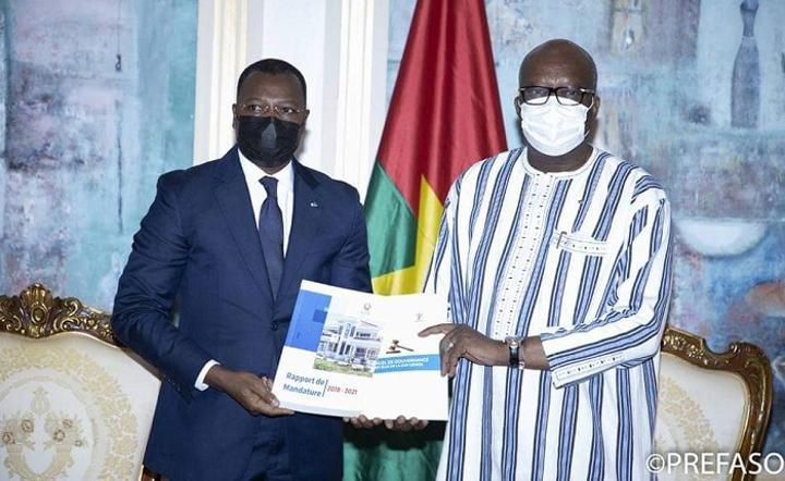 Chambre consulaire régionale de l'UEMOA : le président remet son rapport d'activité au chef de l'Etat