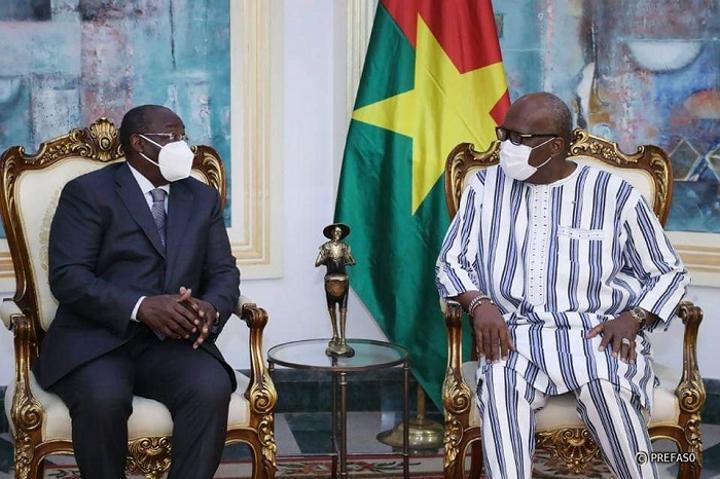 Financement des économies en Afrique de l'Ouest : Le gouverneur de la BCEAO échange avec le président du Faso