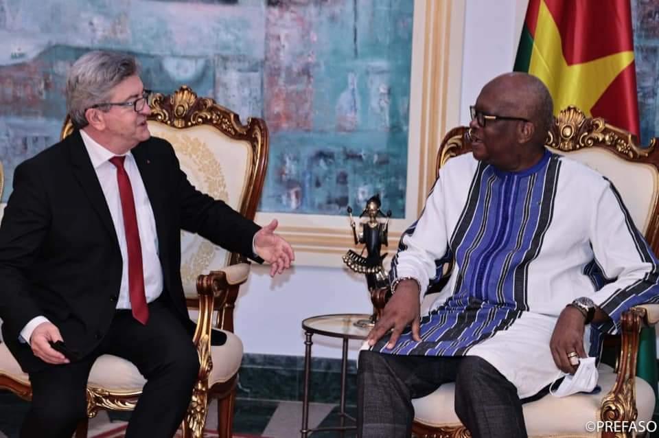 Jean Luc Mélenchon au Burkina : Roch prend parti pour la France insoumise