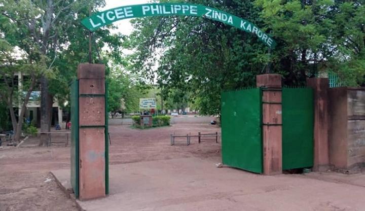 Burkina : L'Union générale des étudiants exige la « réouverture sans conditions » du lycée Philippe Zinda Kaboré