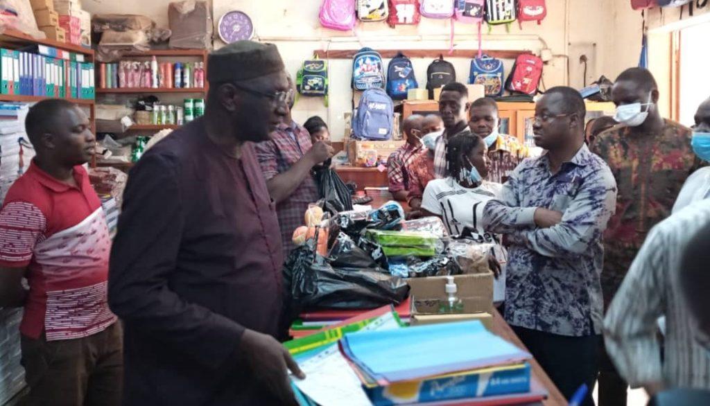 Contrôle des prix des fournitures scolaires : Harouna Kaboré veut « prévenir la spéculation »