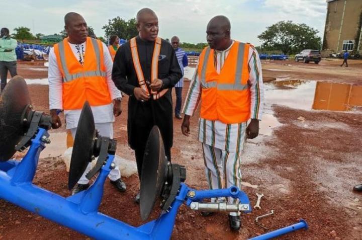 Burkina Faso : L'Unité de montage de tracteurs agricoles bientôt opérationnelle à Bobo-Dioulasso