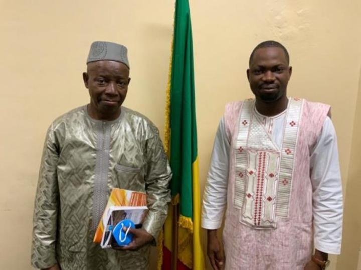 Formation professionnelle : Le Président Fondateur du CIF-SST reçu par le Ministre malien en charge de l'emploi