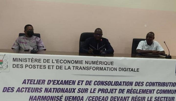 Coopération numérique : Le Burkina fait des recommandations à l'UEMOA et à la CEDEAO
