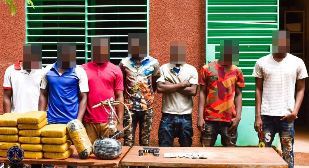 Ouagadougou : Trois réseaux de malfaiteurs mis hors d'état de nuire